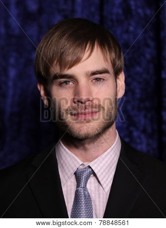LOS ANGELES - NOV 22:  DAVID GALLAGHER arrives to the