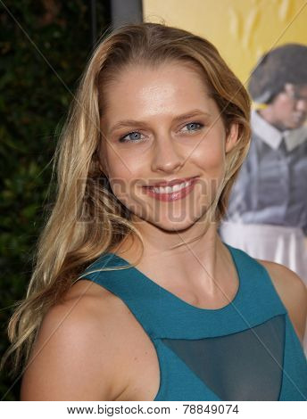 LOS ANGELES - AUG 09:  TERESA PALMER arrives to the