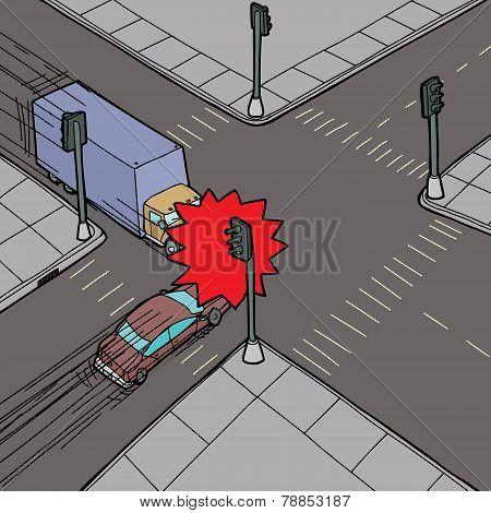 Car Versus Truck