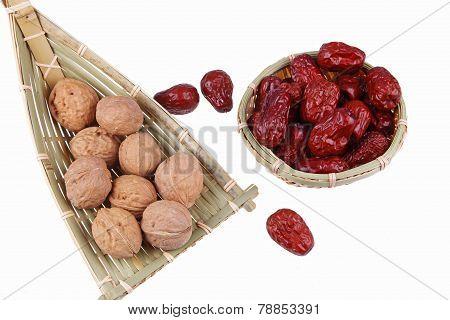 Walnuts And Red Jujube