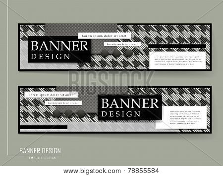Fashion Banner Brochure Template Design