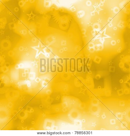 Elegant Bokeh Background With Abstract Shapes