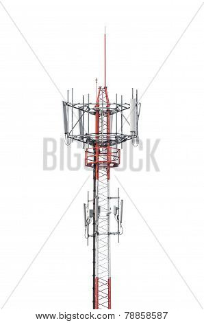 Telecommunication Radio Antenna Tower