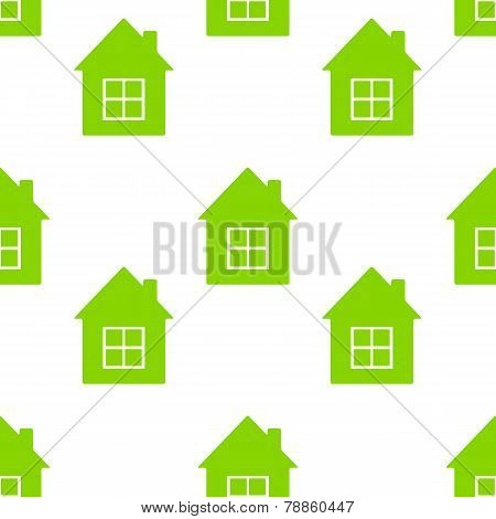 Background With Houses