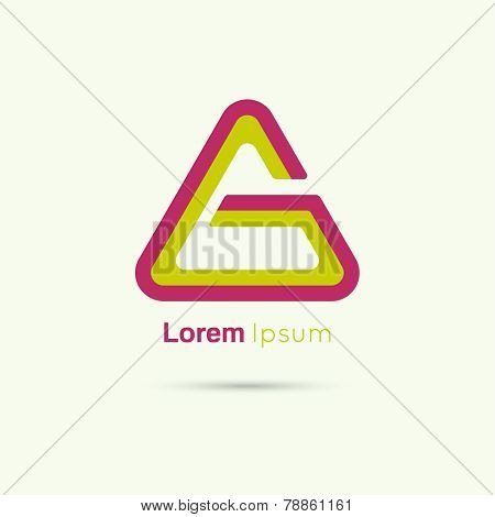 Business Abstract vector logo icon