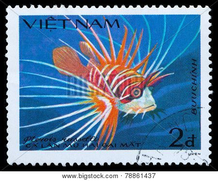 Stamp Series Saltwater Fish