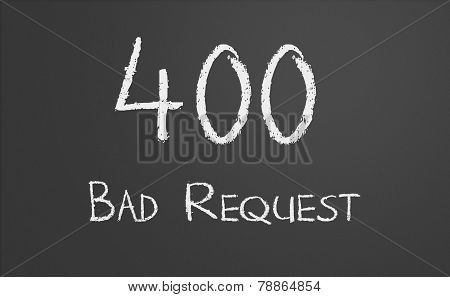 Http Status Code 400 Bad Request