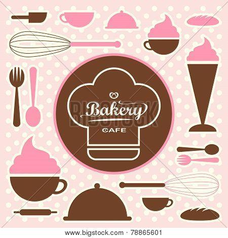Bakery Set Vector 0065