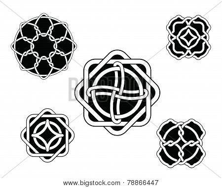 Set Of Celtic Knots