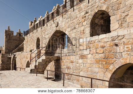Wall Of Jerusalem Old City
