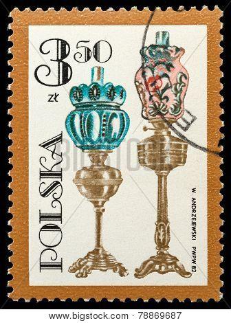 Various Oil Lamp