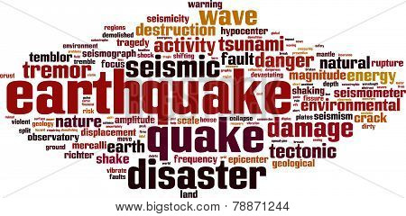 Earthquake Word Cloud
