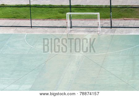 Rubber Football Field