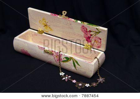 Pink Decoupage Box