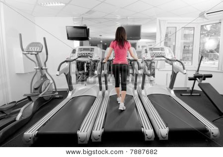 Woman In A Gym