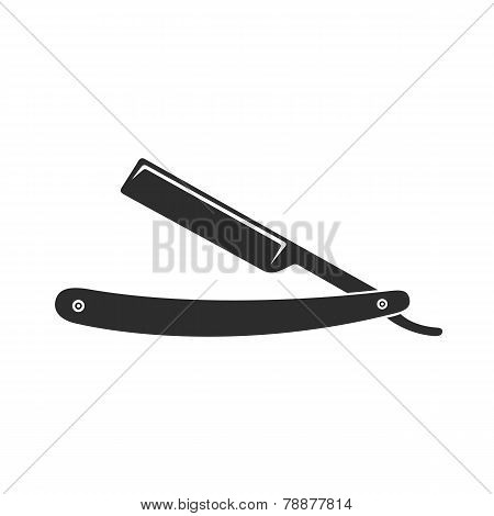 razor barber knife sign
