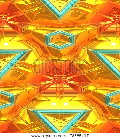Modern gold abstract background
