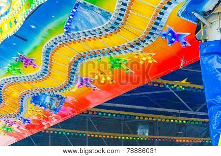 Fairground, Fairground, Colorful Lights