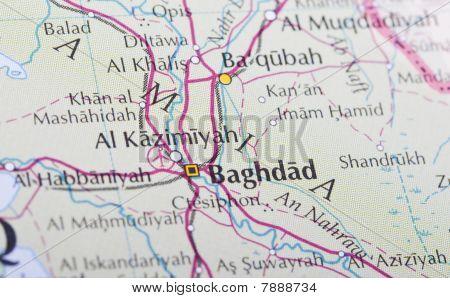 Bagdad Karte