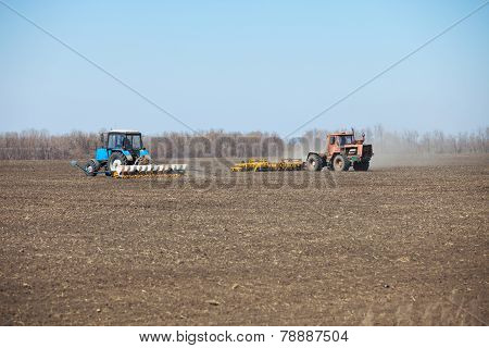 Sowing And Harrowing In The Spring