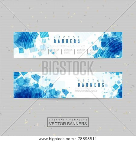 Abstract Banner Template Design