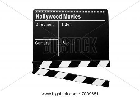 Cinema clapboard