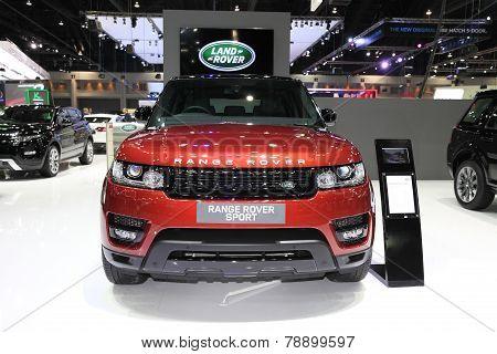 Bangkok - November 28: Range Rover Sport Car On Display At The Motor Expo 2014 On November 28, 2014