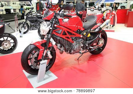 Bangkok - November 28: Ducati Monster Motorcycle On Display At The Motor Expo 2014 On November 28, 2