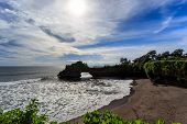 picture of tanah  - Coast near Tanah Lot at sunny day Bali Indonesia - JPG