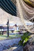 pic of fishnet  - Fishing equipment - JPG