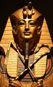 pic of cultural artifacts  - Replica of King Tut - JPG