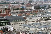 pic of overpopulation  - Aerial view of the city of vienna in austria - JPG
