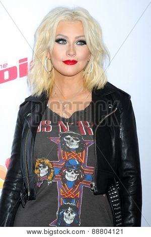 LOS ANGELES - April 23:  Christina Aguilera at the