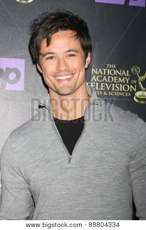 LOS ANGELES - April 21:  Matthew Atkinson at the  2015 Daytime EMMY Awards Kick-off Party at the Hollywood Museum on April 21, 2015 in Hollywood, CA