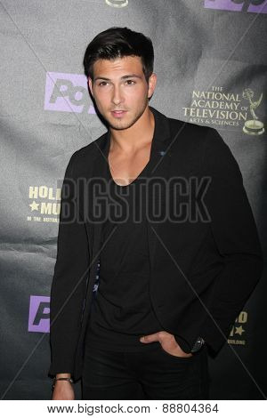 LOS ANGELES - April 21:  Robert Scott Wilson at the  2015 Daytime EMMY Awards Kick-off Party at the Hollywood Museum on April 21, 2015 in Hollywood, CA