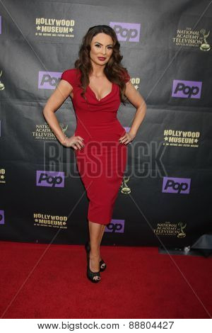 LOS ANGELES - April 21:  Lily Melgar at the  2015 Daytime EMMY Awards Kick-off Party at the Hollywood Museum on April 21, 2015 in Hollywood, CA