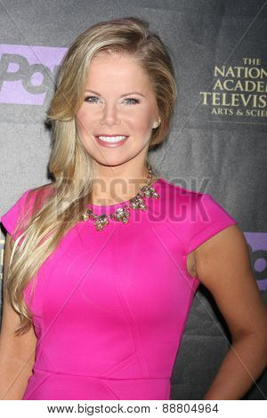 LOS ANGELES - April 21:  Crystal Hunt at the  2015 Daytime EMMY Awards Kick-off Party at the Hollywood Museum on April 21, 2015 in Hollywood, CA