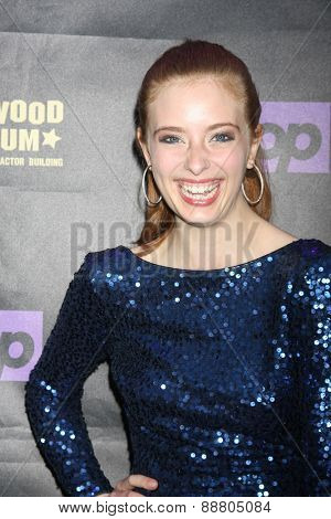 LOS ANGELES - April 21:  Ashlyn Pearce at the  2015 Daytime EMMY Awards Kick-off Party at the Hollywood Museum on April 21, 2015 in Hollywood, CA