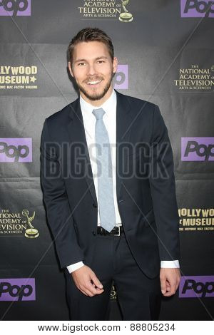 LOS ANGELES - April 21:  Scott Clifton at the  2015 Daytime EMMY Awards Kick-off Party at the Hollywood Museum on April 21, 2015 in Hollywood, CA