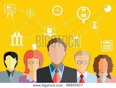 business people, teamwork