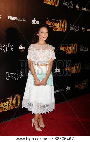 LOS ANGELES - April 21:  Meryl Davis at the