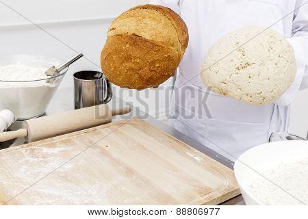 Dough And Bread