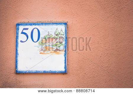 Street Number 50