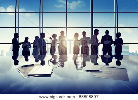 Business People Corporate White Collar Worker Office Concept