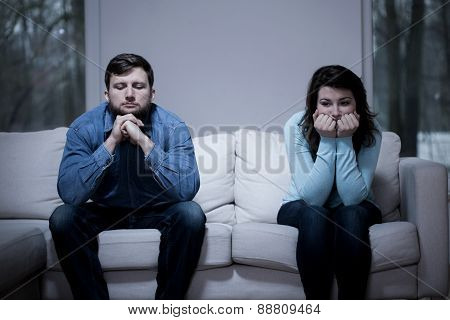 Couple After Argument