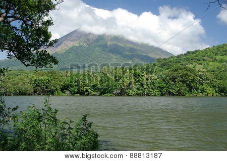 Landscape in Nicaragua