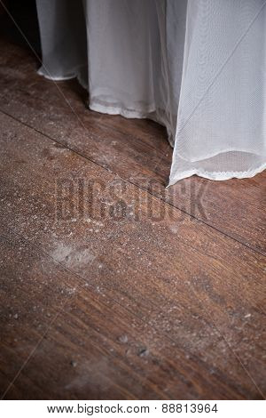 Close Up Of Dirty Floor