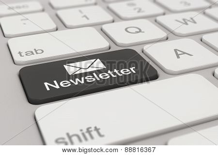 Keyboard - Newsletter - Black