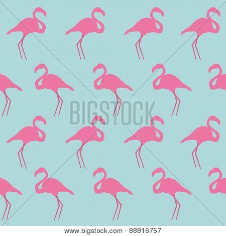 Seamless Flamingo