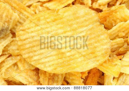 Texture Of Potato Chips